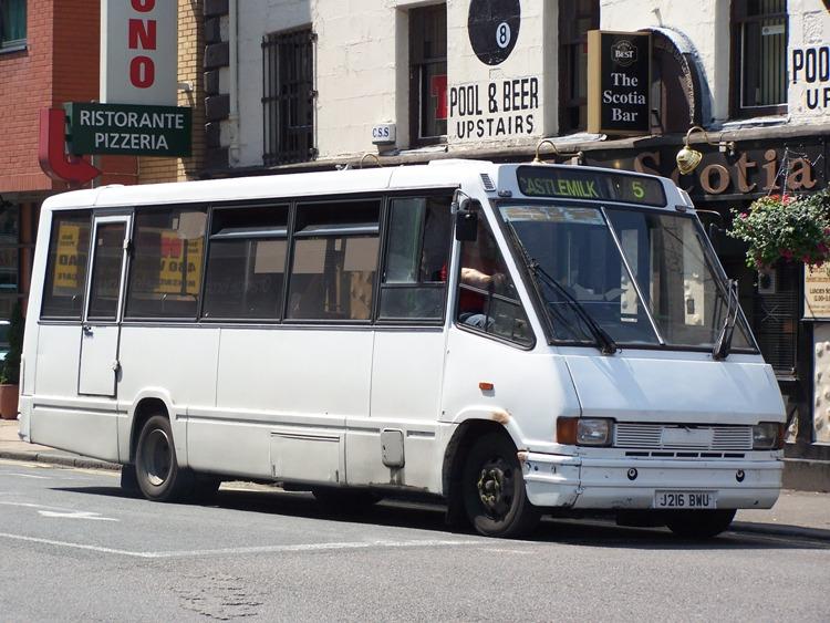 1992 Optare MetroRider UK