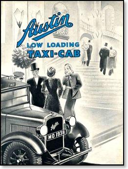 1e 1933 Austin-taxi-1933-advertising