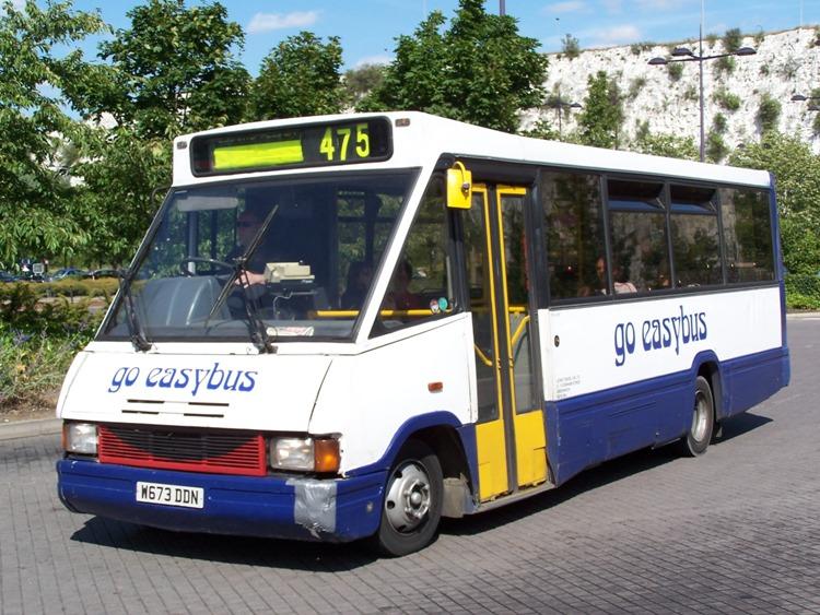 2000 Optare MetroRider UK
