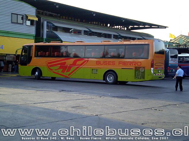 2007 Busscar ElBuss 340 Mercedes Benz Buses Fierro 2
