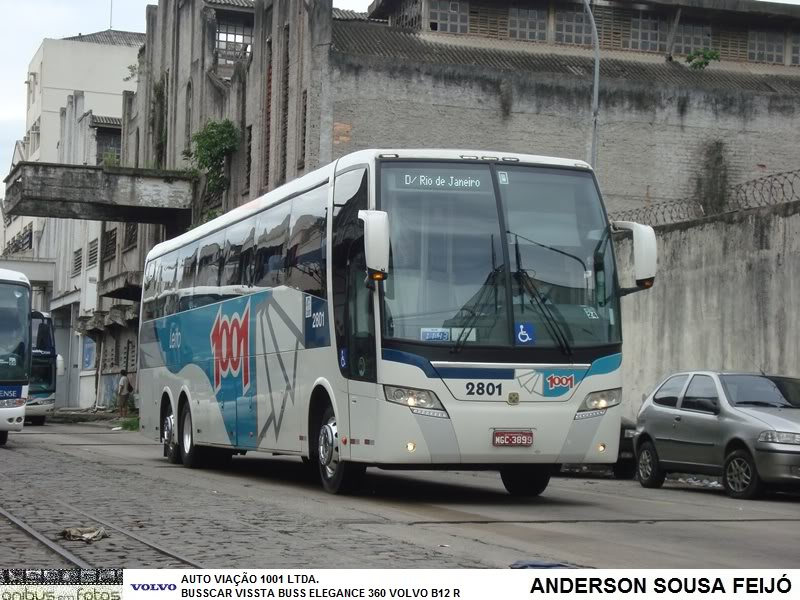 2008 Busscar Vissta Buss Elegance 360 Volvo B12R 2801
