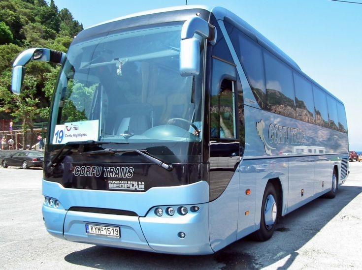 2009 Neoplan at Corfu