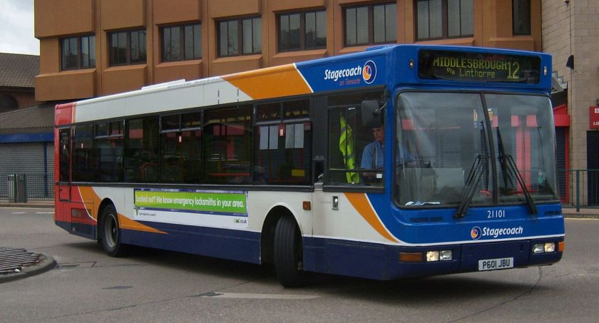 2009 Stagecoach_on_Teeside_bus_21101_Volvo_B10BLE
