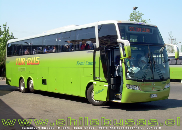2010 Busscar Jum Buss 380 Mercedes Benz
