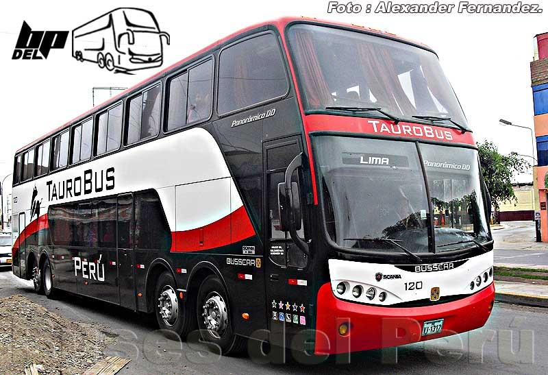 2010 Busscar Panoramico DD Tauro Scania K380