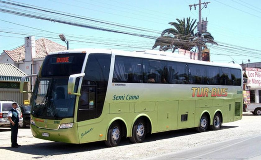 2011 Busscar MercedesBenz 0-500 RS  Jumbuss 380 8X2 Chili