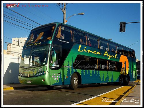 2011 Busscar Panoramico DD Volvo B12R Buses Linea Azul