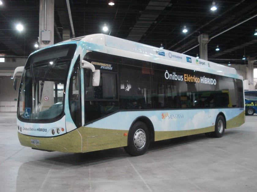 2012 Ônibus híbrido Busscar Urbanus Pluss