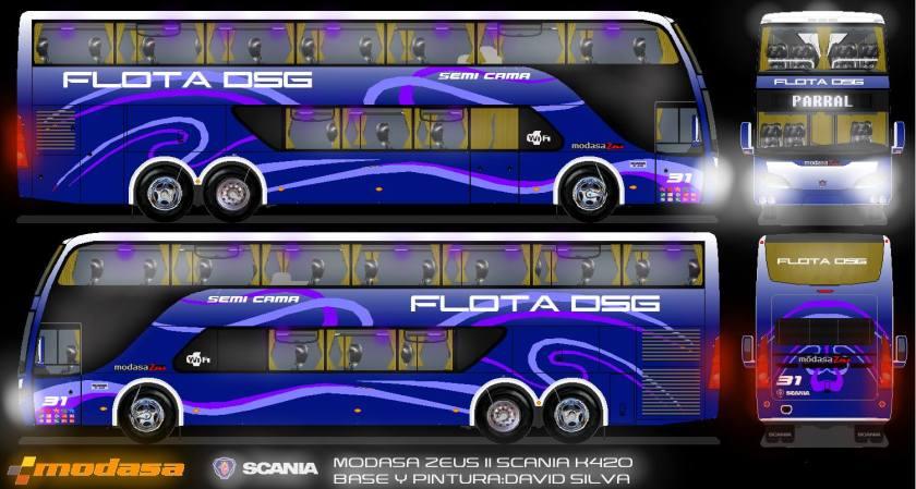 2013 MODASA ZEUS II SCANIA K420 DSG