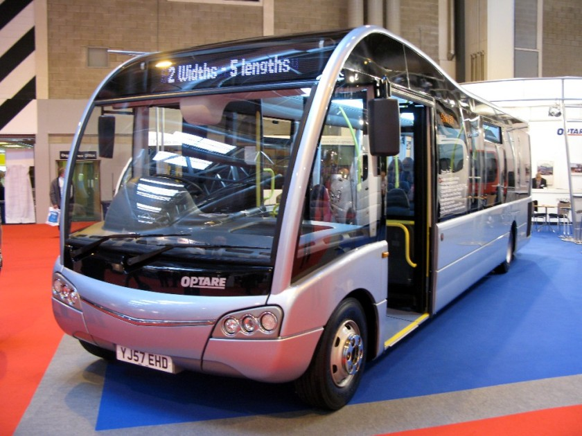 2013 Optare Solo SR for route 470