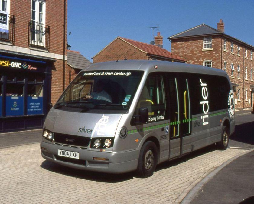 Alero, was a 7.2 metre, 16 seat low-floor minibus