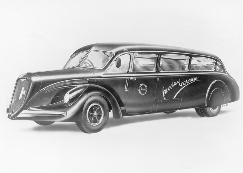 Alfa Romeo a karoseriju izradio  carrozzeria Renzo Orlandi