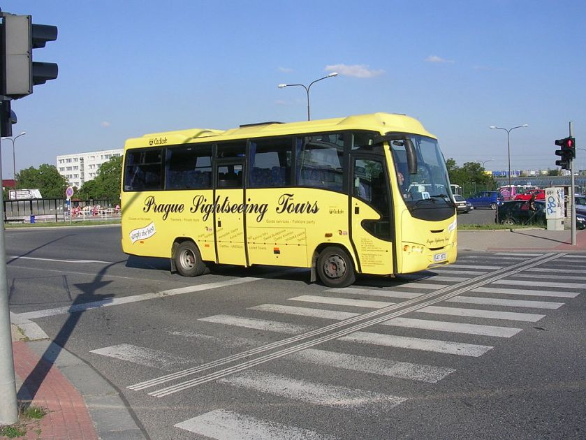 Autobus Prague Sightseeing Tours Otoyol