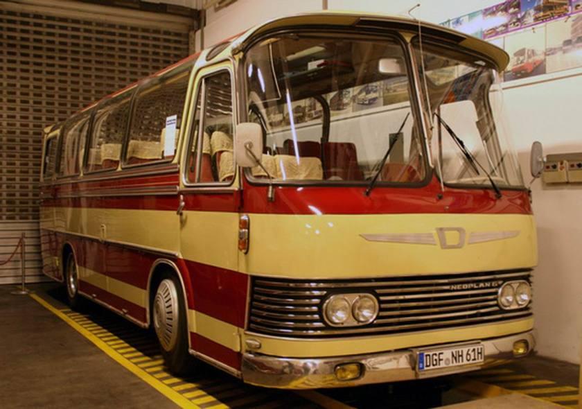 Auwärter Neoplan Typ Hamburg Prototyp Museumsbus - DILLIER