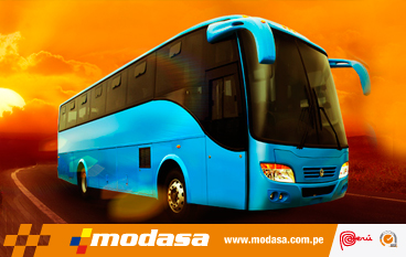 Bus Titán Interprovincial Turismo Modasa