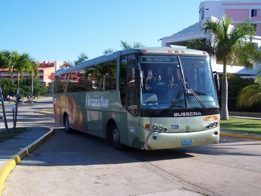 Busscar El Buss 340 Cuba