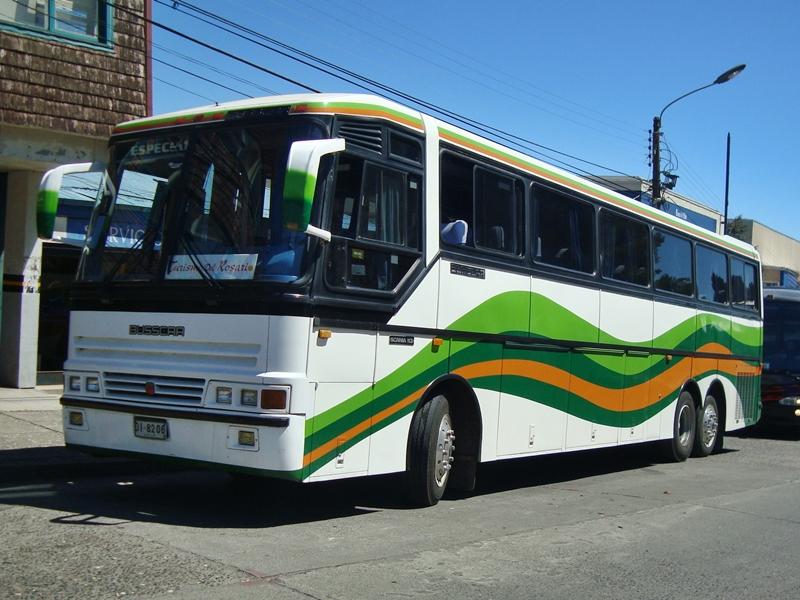 Busscar El Buss 360 Scania K-113 Turismo del Rosario