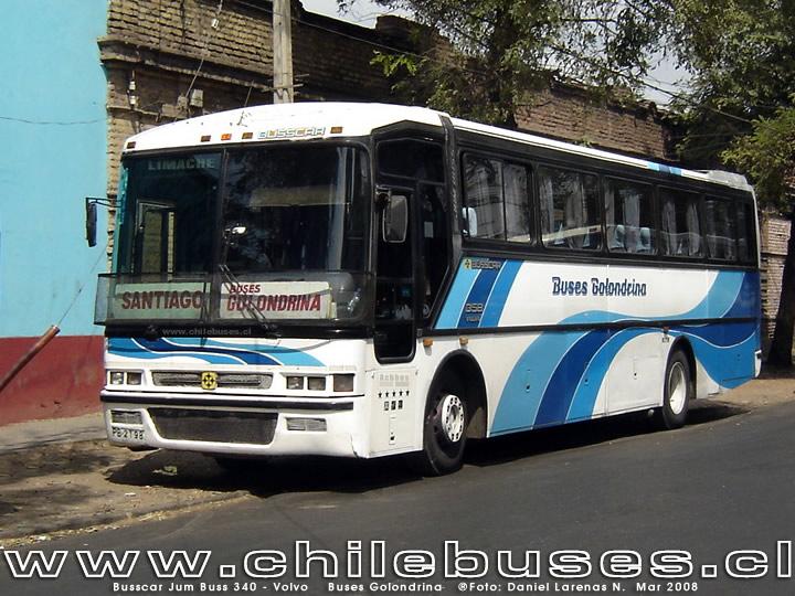 Busscar Jum Buss 340 Volvo Buses Golondrina