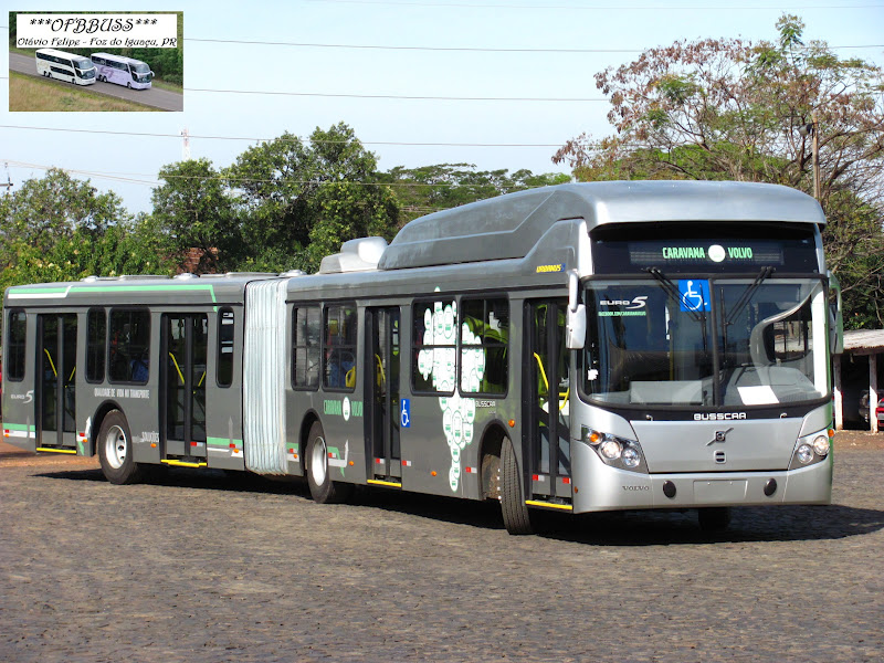 Busscar Urbanuss Low Floor Articulado-Volvo B360S