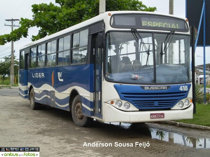 Busscar Urbanuss Mercedes-Benz OF-1721