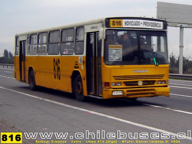 Busscar Urbanuss Volvo Linea 816Stgo