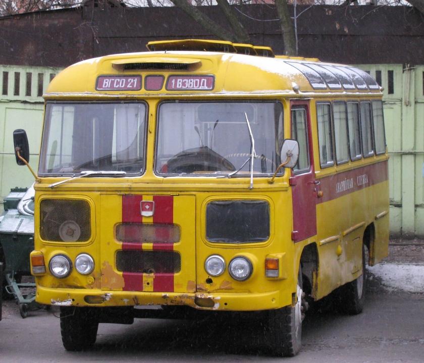 Bussen PAZik Moskou