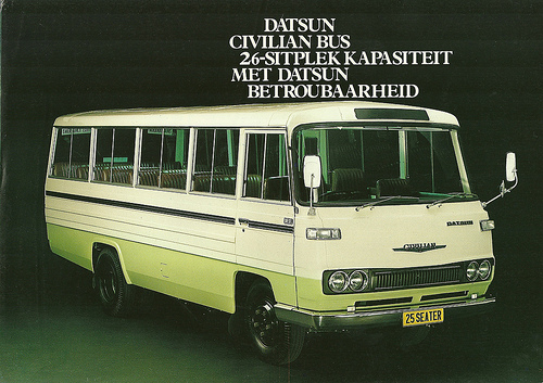 Datsun Civilian 25 seater