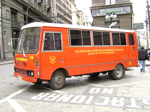 Datsun Orange bus
