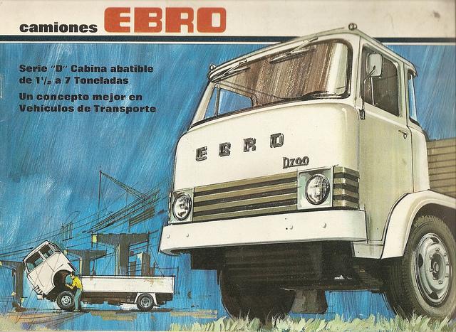 EBRO Vrachtwagen