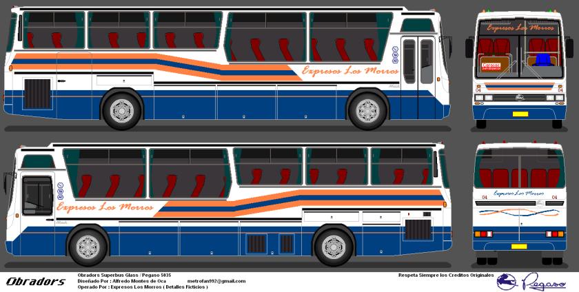 Expresos Los Morros Obradors Superbus Glass Pegaso 5035
