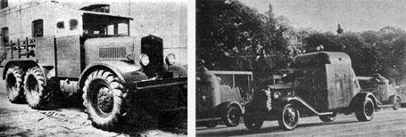 Hispano Argentina camion Criollo 6x6 y blindado liviano