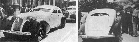 Hispano Argentino Redondo avanzado diseño de Fortunato Francone equipado con el Motor Criollo D2 de 95 Hp