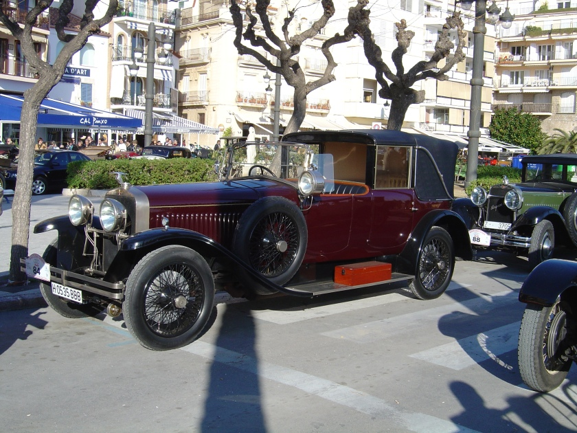 Hispano bordeaux