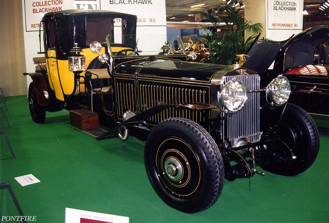 Hispano Suiza H6 B coupé opéra