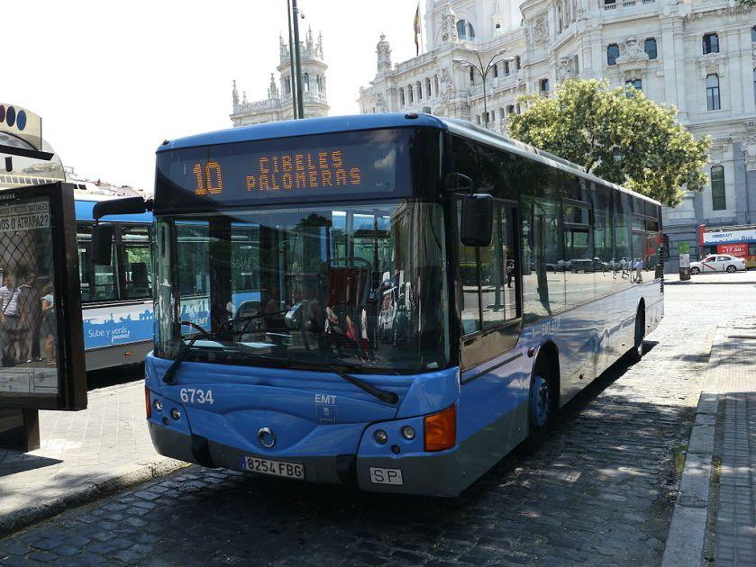 Iveco Noge (Cibeles, Madrid) Irisbus