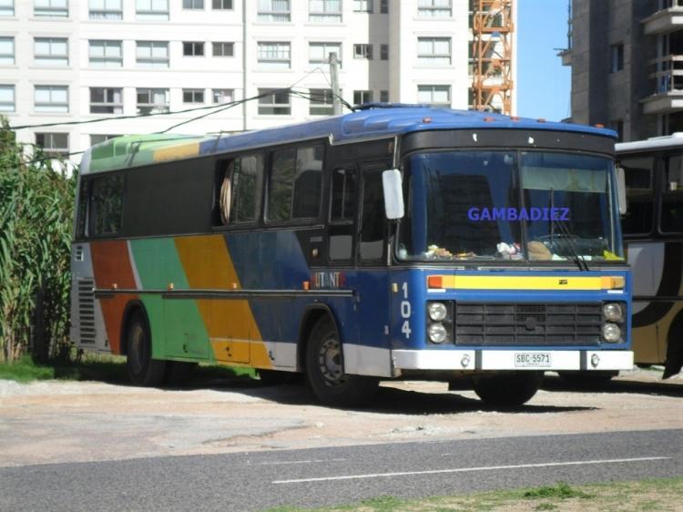 MB Nielson Diplómata (en Uruguay) - MUTANTE - 104