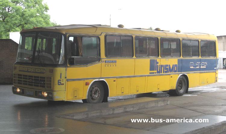 Mercedes-Benz OF 1113 - Nielson Diplomata 310 (en Uruguay) - Marcos