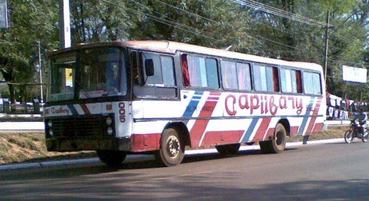 Mercedes-Benz OF 1313 - Nielson Diplomata (en Paraguay) - Capiibary