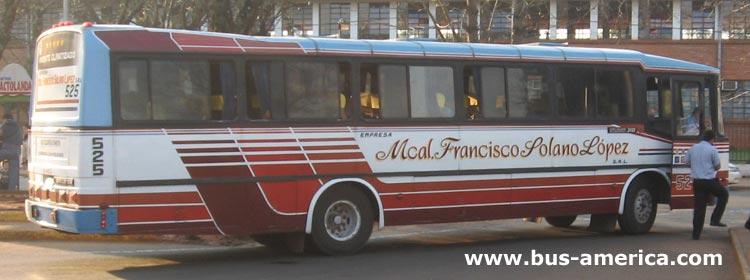 Mercedes Benz OF - Nielson Diplomata 310 (en Paraguay) - Mcal.Francisco Solano L�pez