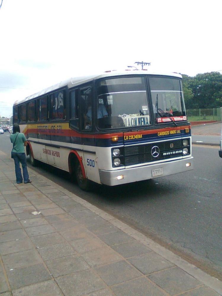 Mercedes-Benz OF - Nielson Diplomata (en Paraguay) - Cardozo Hnos S.A.