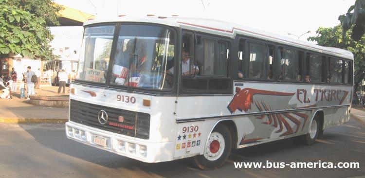 Mercedes-Benz OF - Nielson Diplomata serie 260 (en Paraguay) - El Tigre