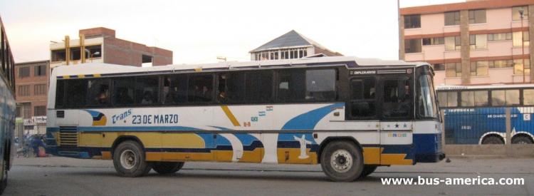 Mercedes-Benz OH - Nielson Diplomata (en Bolivia) - 23 de Marzo