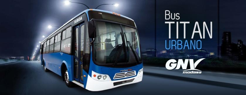 Modasa bus titan urbano