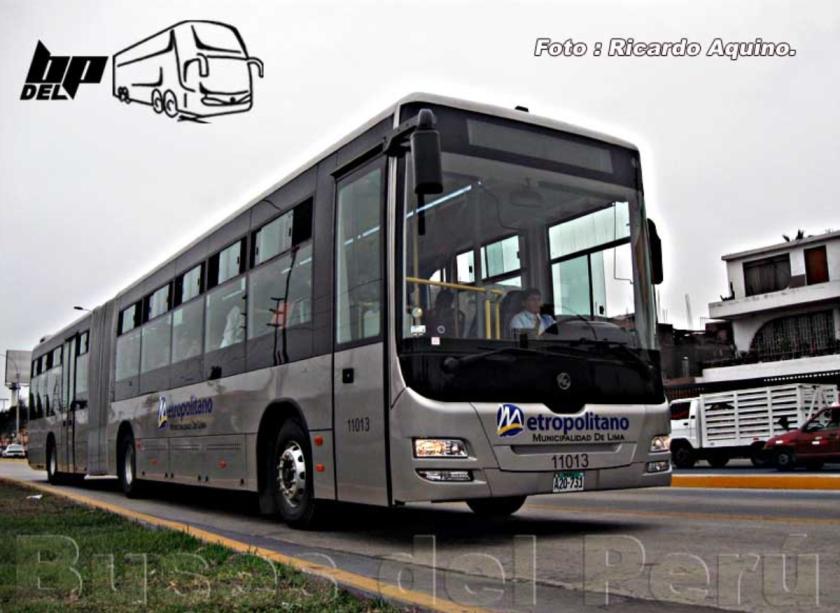 Modasa de Perú fabricará los buses del Metroplus de Medellín