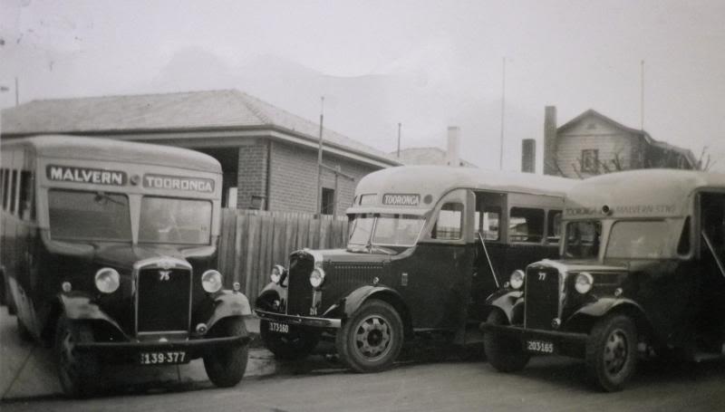 Morris buses