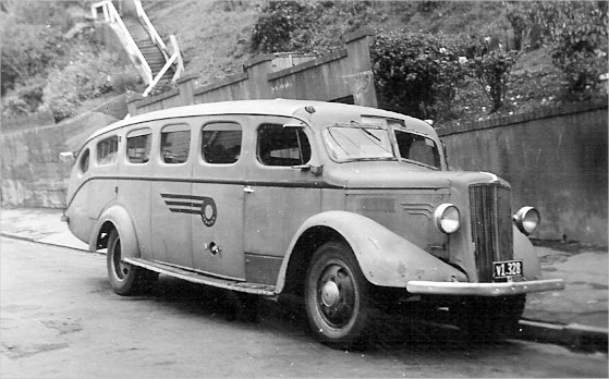 Morris Commercial 14 seater purchased from Gibson Motors