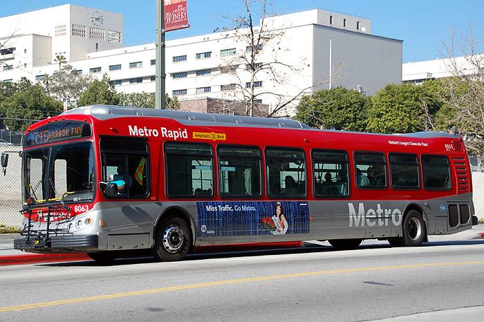 NABI Metro 45C LACMTA 8063