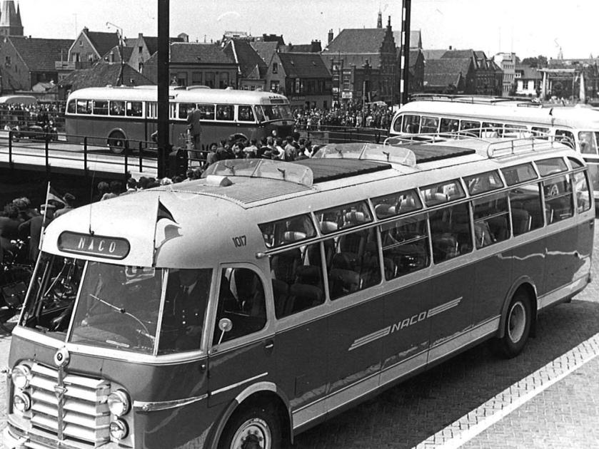 NACO Alkmaar 1017, 1776, 1742, Friese Brug Alkmaar (1952)