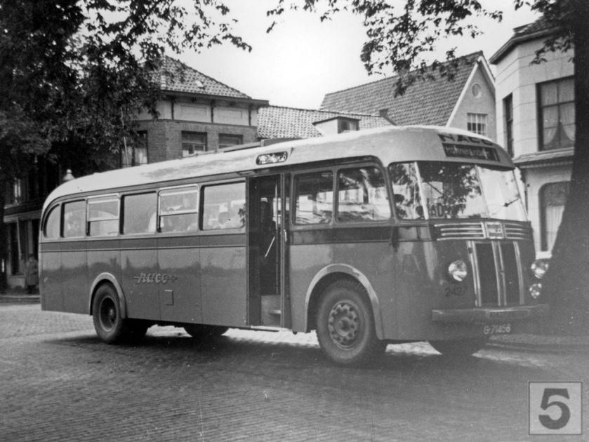NACO Alkmaar 2427, Lijn AD, Zaandam (1949) Scania Vabis
