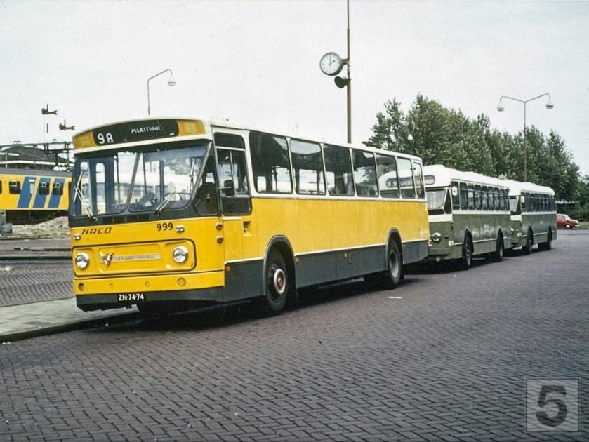 NACO Alkmaar 999, Lijn 98, Stationsplein Alkmaar (1973) Leyland Verheul